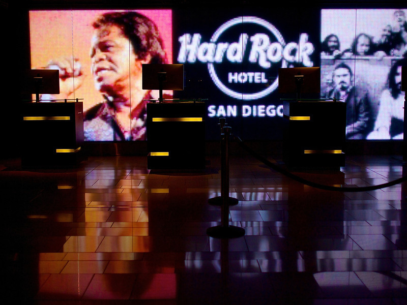 Lobby, Hard Rock Hotel - San Diego, California