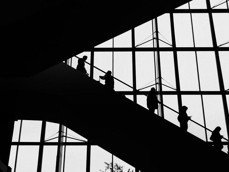 Convention Center Silhouette, SXSW 2017 - Austin, Texas