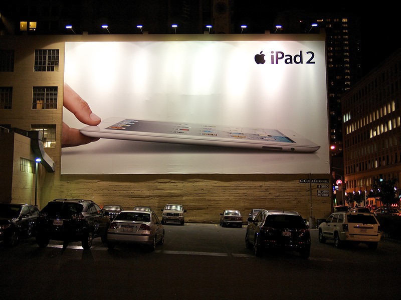 Giant iPad 2 - San Francisco, California