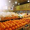 Sunshine and Whole Foods Oranges - Austin, Texas