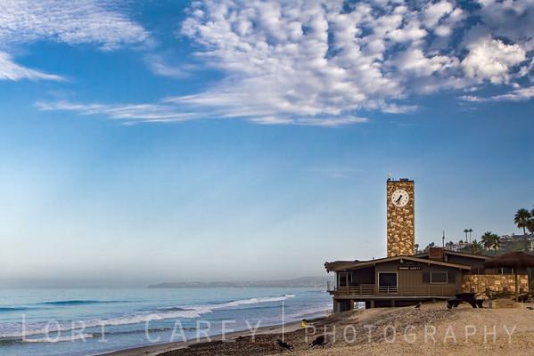 San Clemente Marine Safety Headquarters Clock Tower