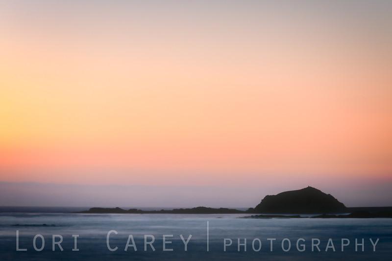 Random boring long exposure at sunset, Aliso Creek Beach, Laguna Beach