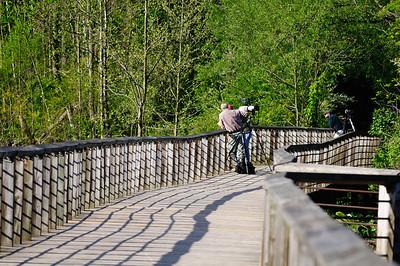 Photographers at the Beaver Marsh - Cuyahoga Valley National Park