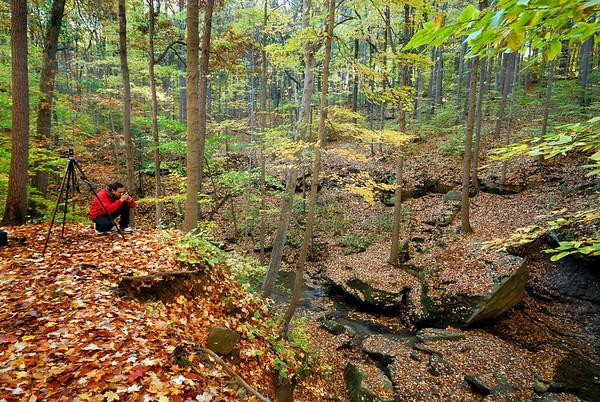 Blue Hen Falls - Cuyahoga Valley National Park