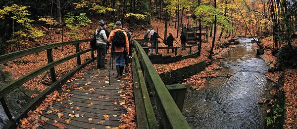 CVPS Photo Walk - Bridal Veil Falls - Tinker's Creek Overlook