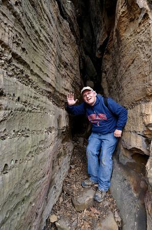 Me at  Whipps Ledges - Hinckley Reservation