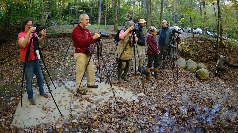 Photographers at Sulphur Springs