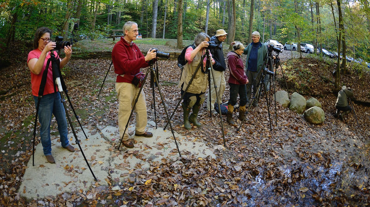 Photographers at Sulphur Springs