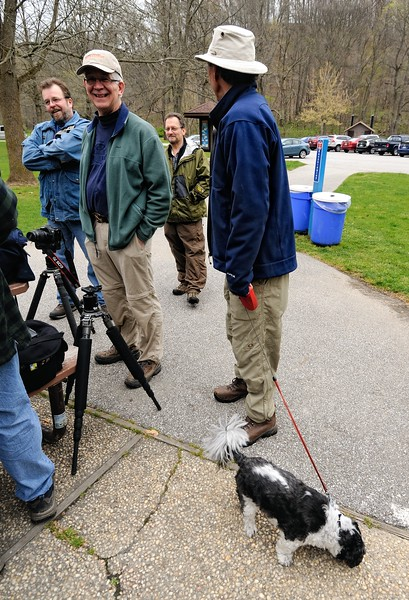 The Cuyahoga Valley Photo Society Photo Walks are so popular even the dogs show up!!!