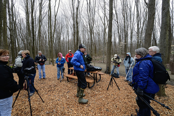 Jerry giving photo tips on the Cuyahoga Valley Photo Walk