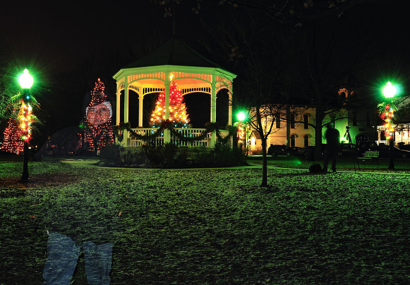 Ghost of Christmas Past - Hudson Gazebo