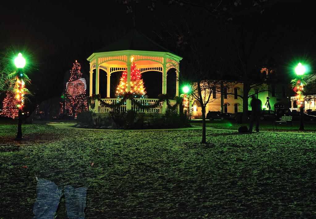 Ghost of Christmas Past - Hudson Gazebo