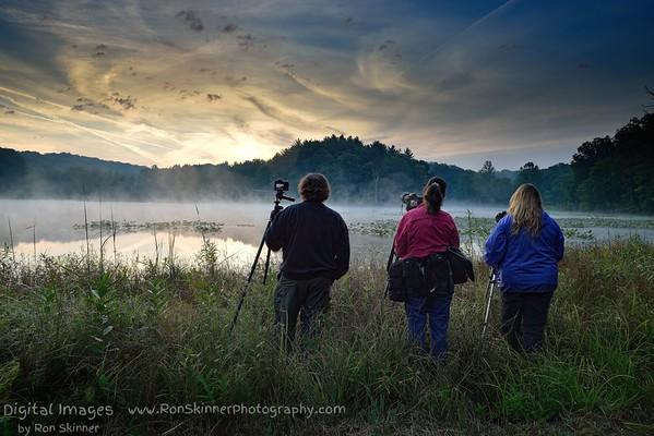 Photographers capture the Sunrise