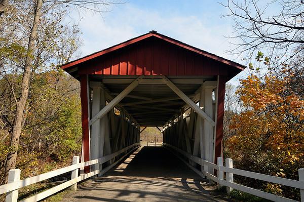 Everett Road Covered Bridge