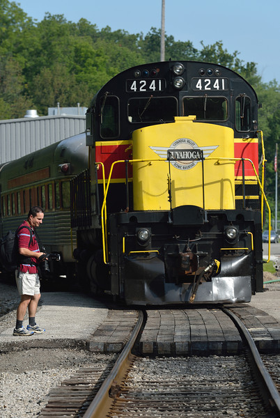 Fitzwater Train Yard in the Cuyahoga Valley National Park