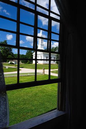 Window View of Church