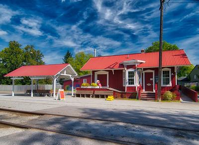 Peninsula Train Station