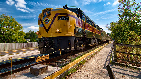 CVSR Train in Peninsula
