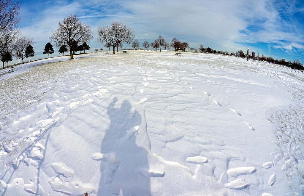 My Shadow at Edgewater Park