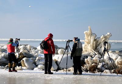 Photographers at Gordon Park - Cleveland Ohio