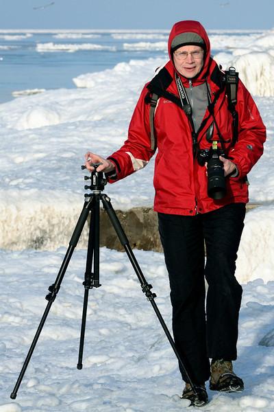 Photographer at Gordon Park - Cleveland Ohio