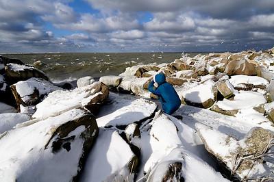 Photographer at Gordon Park, Cleveland Ohio