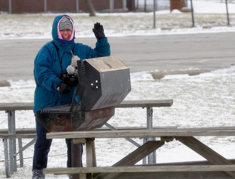 Winter Picnic at Gordon Park, Cleveland Ohio