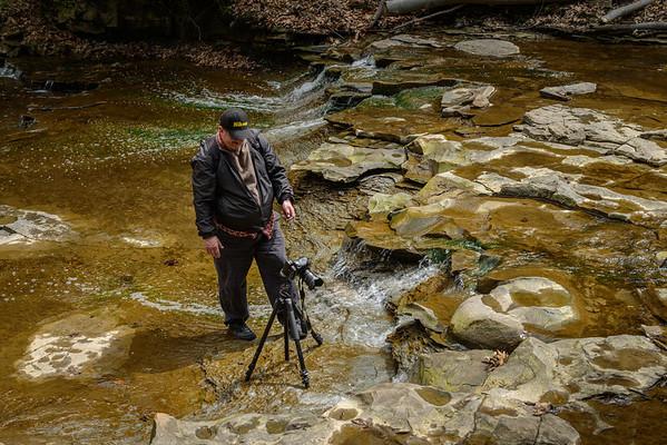 Doug at Bridal Veil Falls