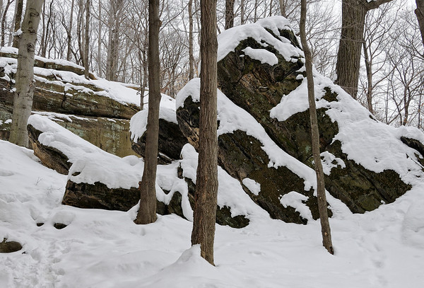 Whipps Ledges in the Hinckley Metropark