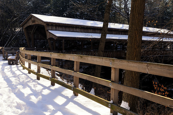 Covered Bridge near Lanterman's Mill