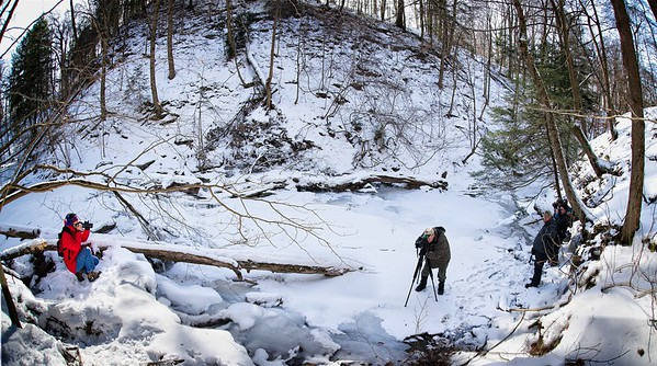 Photography Hike in the Penitentiary Glen Gorge