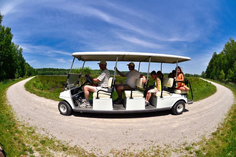 Takin' a Tour - Sandy Ridge Reservation