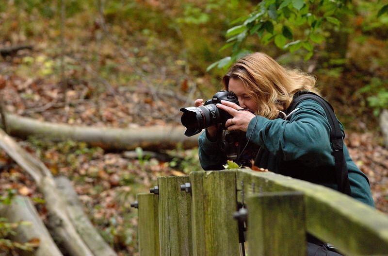 Photographer at Bridal Veil Falls