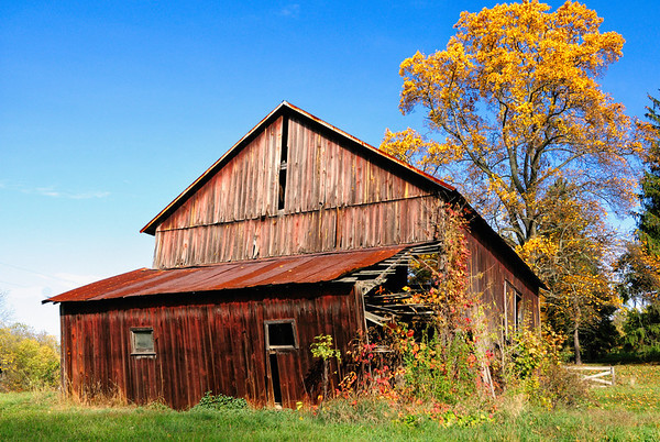Old Barn in Richland County Ohio