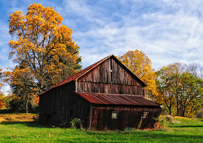Old Barn in Richland County, Ohio