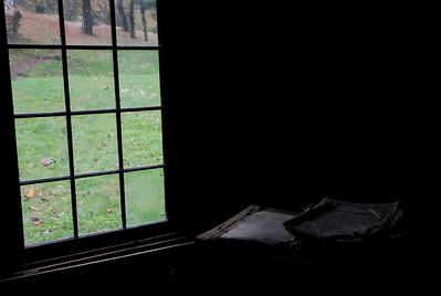 Window lit Bible - Beaver Creek State Park