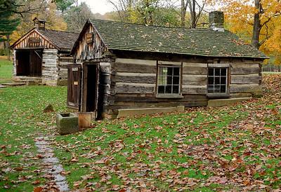 Blacksmith Shop and Chapel - Beaver Creek State Park