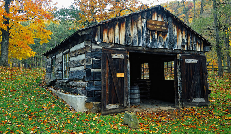 Blacksmith Shop - Beaver Creek State Park