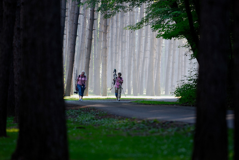 Photographers at Beaver Creek State Park