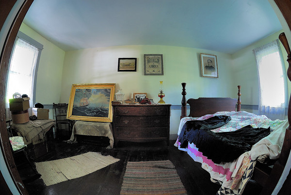 Bedroom - Fisheye view - Beaver Creek State Park