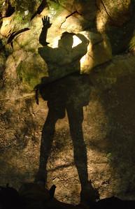 My Shadow at Ash Cave - Hocking Hills