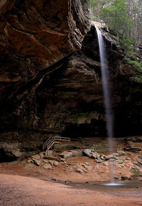 Hocking Hills Spring 07 - Ash Cave Waterfall