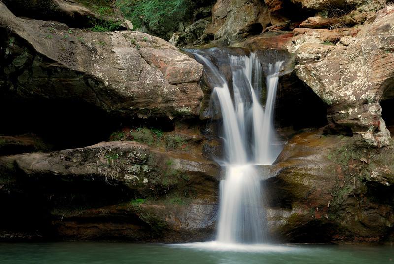 Hocking Hills - Upper Falls - Old Man's Cave
