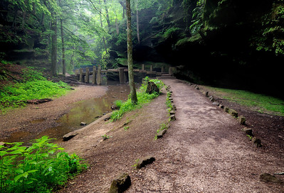 Old Man's Cave Gorge - Hocking Hills State Park