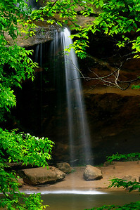 Lower Falls - Old Man's Cave - Hocking Hills State Park