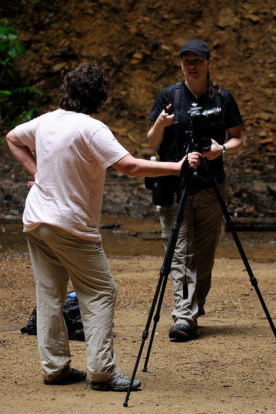 Photographers at Ash Cave - Hocking Hills
