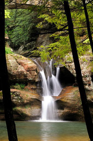 Upper Falls - Old Man's Cave - Hocking Hills