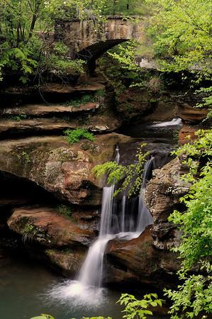 Upper Falls - Old Man's Cave - Hocking Hills