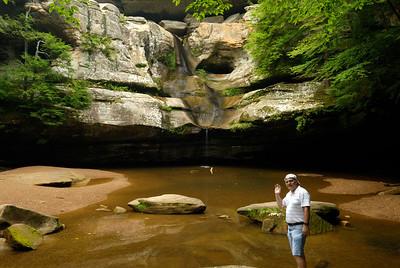 Me at Cedar Falls