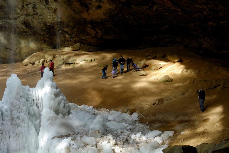 Dave at Ash Cave